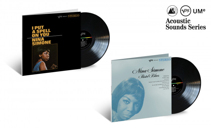 "JazzEcho-Plattenteller: Nina Simone ""I Put A Spell On You"" & ""Pastel Blues"" (Acoustic Sounds Series)"