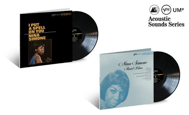 JazzEcho-Plattenteller, Acoustic Sounds Series - zwei verzaubernde Meisterwerke von Nina Simone