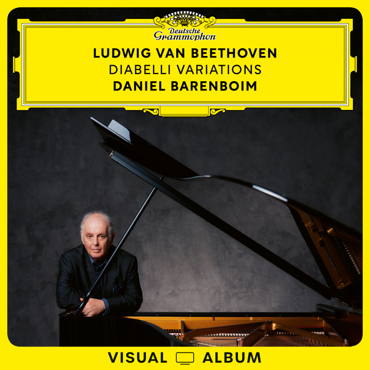 Beethoven: Diabelli Variations Visual Album EV Cover
