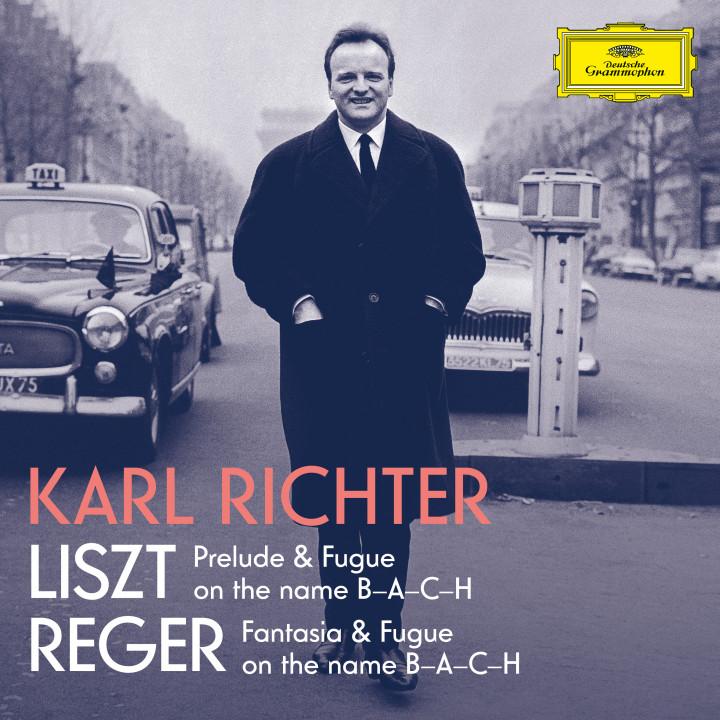 Karl Richter Liszt / Reger eAlbum Cover