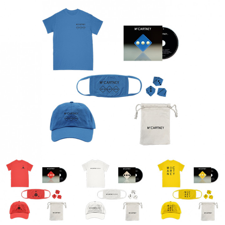 III Deluxe CD Merch Bundles