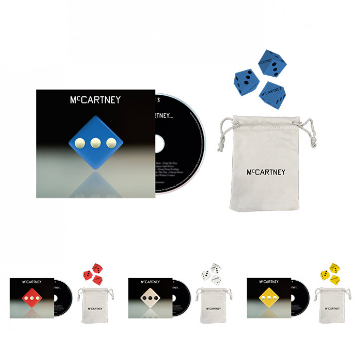 McCartney III Deluxe CD + Dice