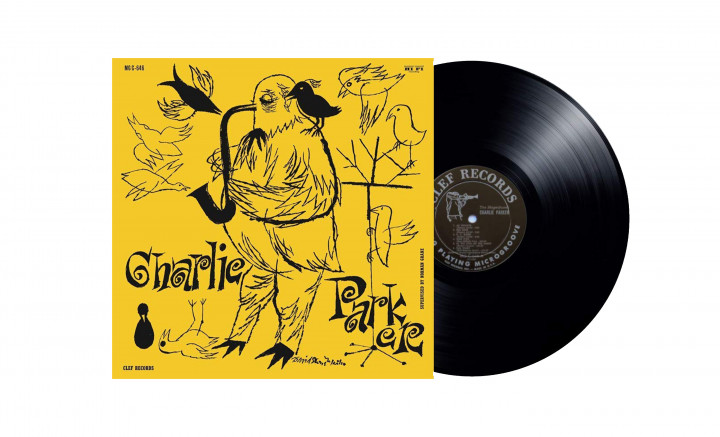 Charlie Parker - The Magnificent Charlie Parker (LP)