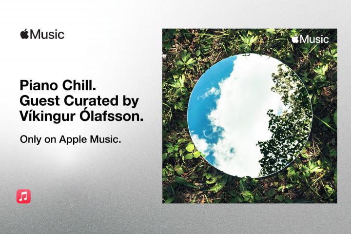 Víkingur Ólafsson Apple Playlist Curation DG News