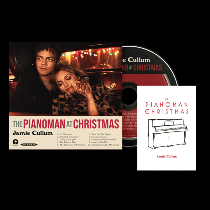 The PIanoman at Christmas signed CD