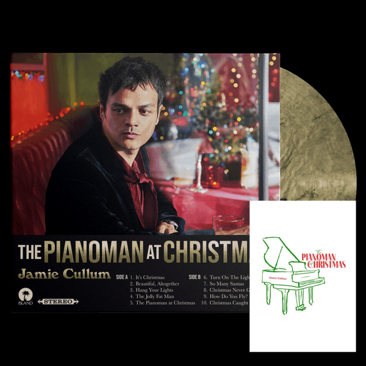 The PIanoman at Christmas Deluxe Vinyl