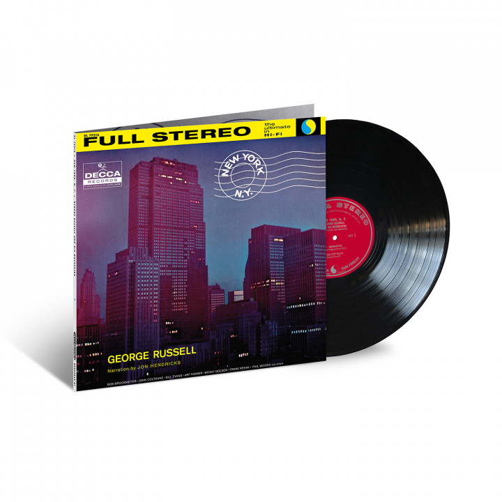 GEORGE RUSSELL_New York, N.Y. (Acoustic Sounds) - Packshot (square)