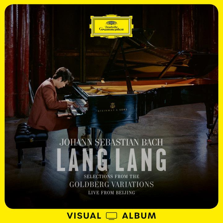 Lang Lang BACH Goldberg Variations - Selections  (Live from Beijing / Visual Album) Cover