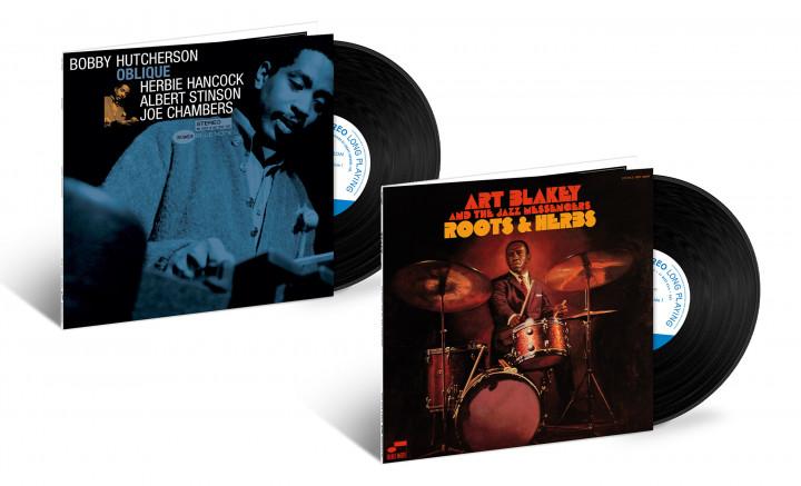 "JazzEcho-Plattenteller: Tone Poet Vinyl Series - Bobby Hutcherson ""Oblique"" / Art Blakey & The Jazz Messengers - ""Roots & Herbs"""