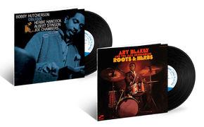 JazzEcho-Plattenteller, Tone Poet-Serie - vergessene Meisterwerke von Art Blakey und Bobby Hutcherson
