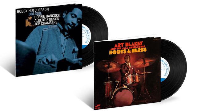 JazzEcho-Plattenteller, Tone Poet-Serie - vergessene Meisterwerke von Art Blakey und Bobby Hutcherson ...