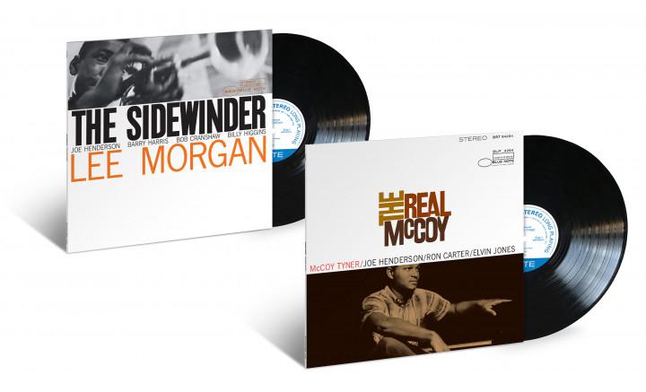 "JazzEcho-Plattenteller: Blue Note Classic Vinyl - Lee Morgan ""The Sidewinder"" / McCoy Tyner ""The Real McCoy"""