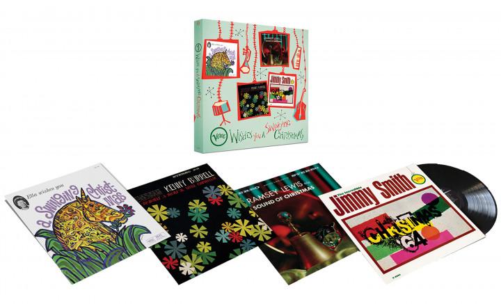 """Jazz zu Weihnachten: """"Verve Wishes You A Swinging Christmas!"""" (4LP Boxset)"""