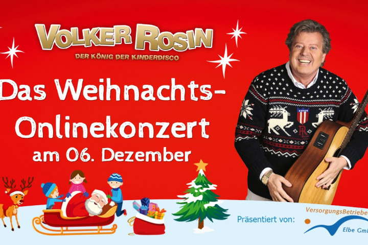 Volker Rosin Online Weihnachtskonzert