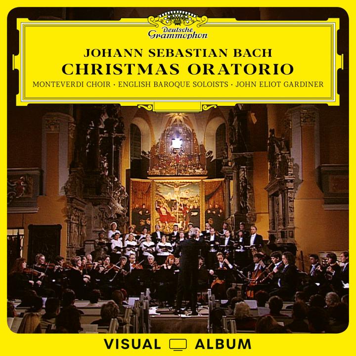 Gardiner Johann Sebastian Bach: Christmas Oratorio Cover