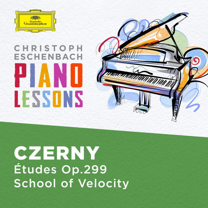 Christoph Eschenbach Piano Lessons - Czerny: 40 Etudes, Op. 299 The School of Velocity