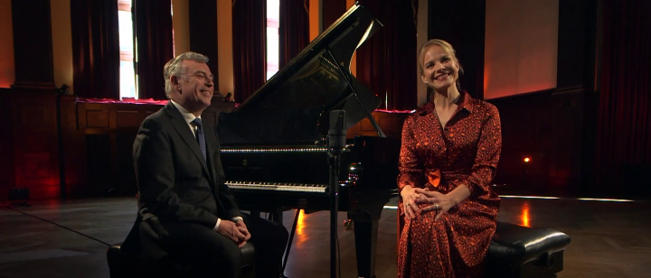 Malcolm Martineau spricht über Elīna Garančas Entwicklung als Liedsängerin