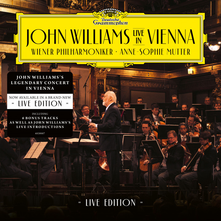 John Williams Live in Vienna / LIVE EDITION with Sticker Cover