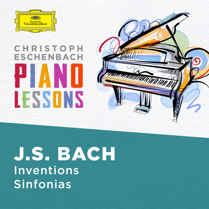 Eschenbach - Piano Lessons - Bach, J.S.: Inventions and Sinfonias, BWV 772 - 786 & 787- 801