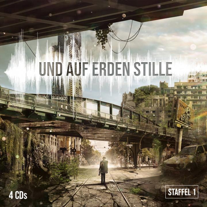 Und auf Erden Stille Staffel 1 4CD Hörspielbox Cover