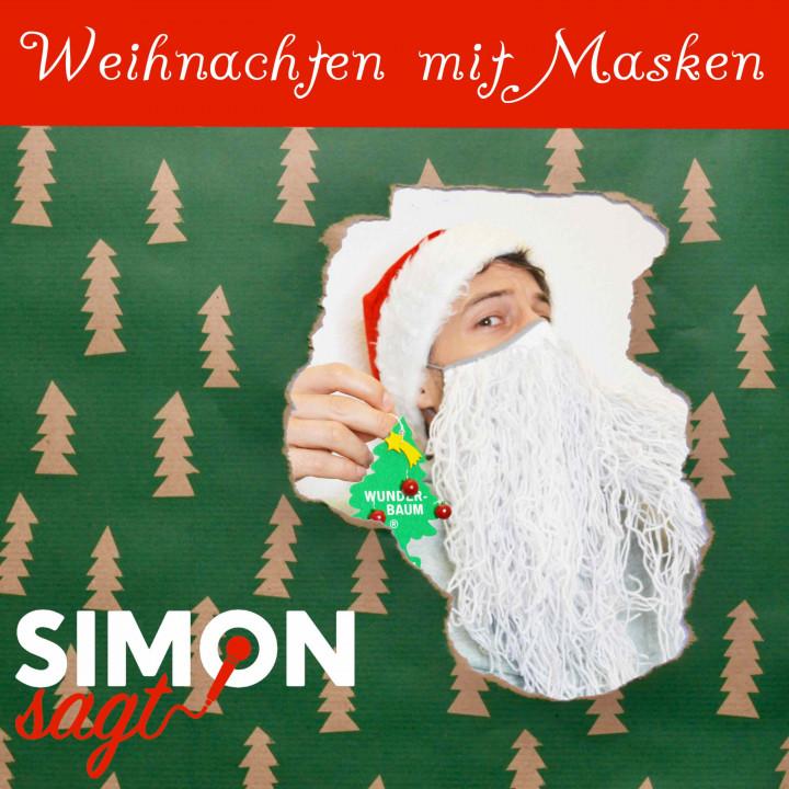 Weihnachten mit Masken simon sagt