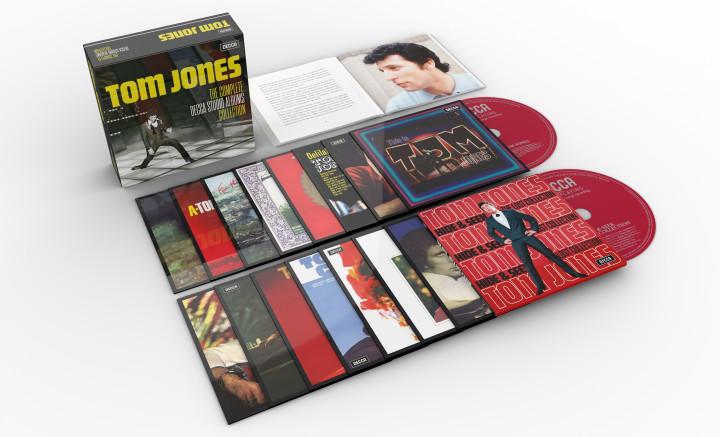Tom Jones - The Complete Decca Studio Albums Collection