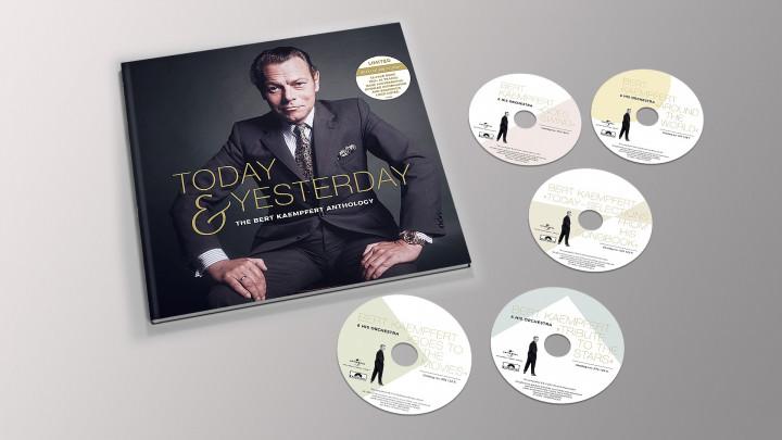 Today & Yesterday - The Bert Kaempfert Anthology (Ltd. 5 CD Deluxe Edition)