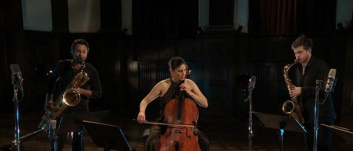SIGNUM saxophone quartet & Hila Karni – On the Nature of Daylight (Transkr. für Saxophon und Cello)