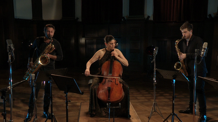 SIGNUM saxophone quartet & Hila Karni – On the Nature of Daylight (Transkr. für Saxophon und Cello)