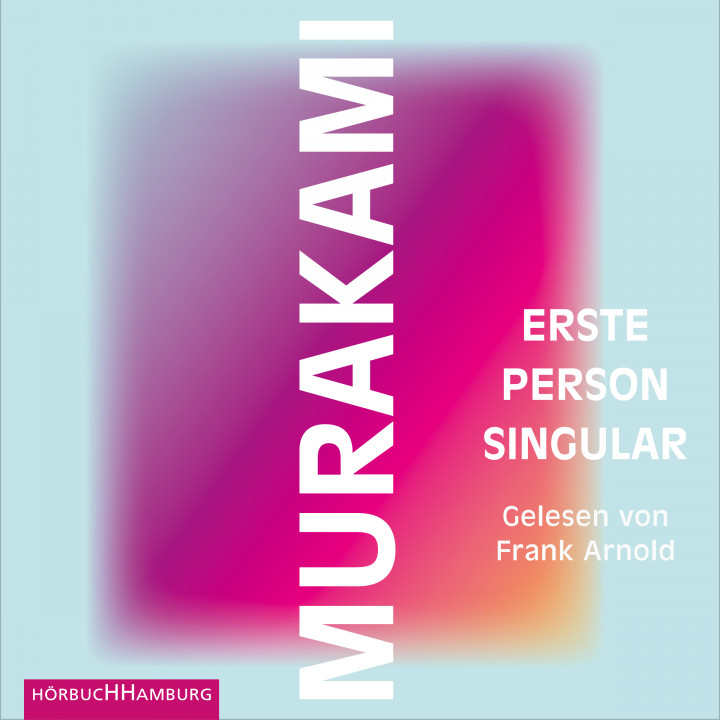 Erste Person Singular Murakami Cover