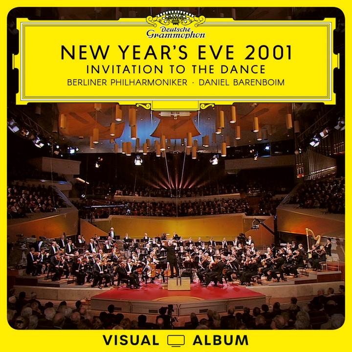New Year's Eve 2001 from Berlin - Invitation to the Dance Barenboim Cover