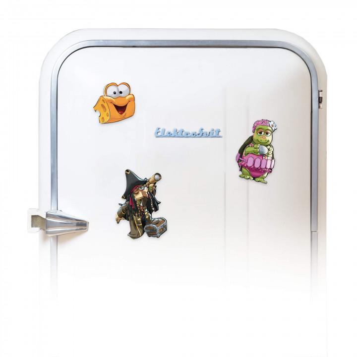 Coole Kühlschrank-Magneten
