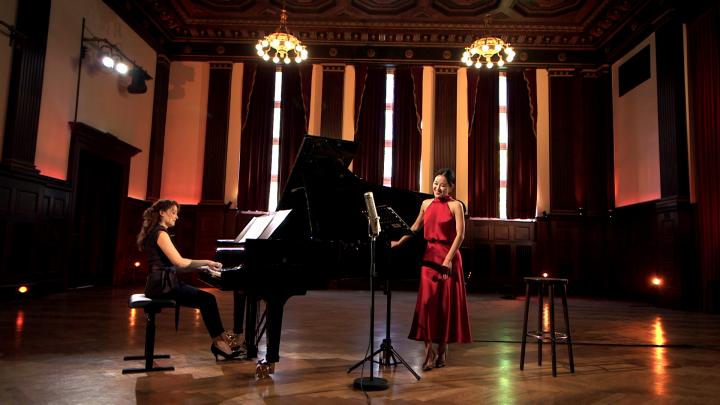 """Hera Hyesang Park & Sarah Tysman – Schubert: Ellens Gesang III, Op. 52, No. 6, D. 839 """"Ave Maria"""""""