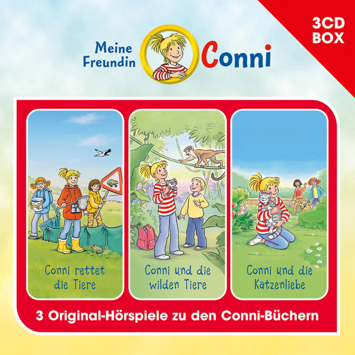 Conni - 3-CD Hörspielbox Vol. 5