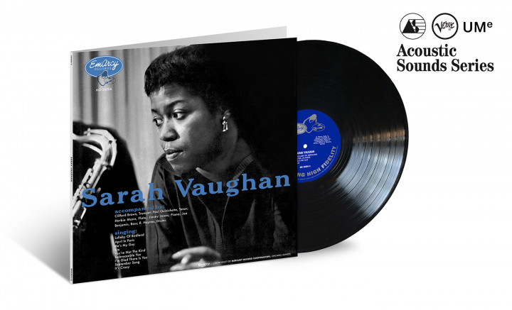 "JazzEcho-Plattenteller: Verve Acoustic Sounds - Sarah Vaughan ""Sarah Vaughan with Clifford Brown"""