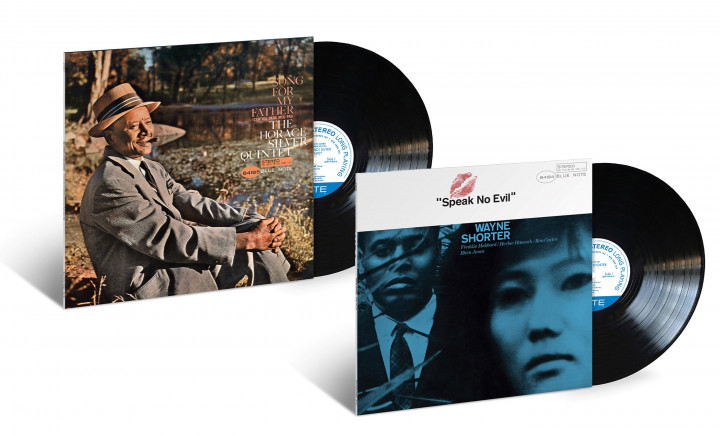 "Blue Note Classic Vinyl Series - Horace Silver ""Song For My Father"" / Wayne Shorter ""Speak No Evil"""