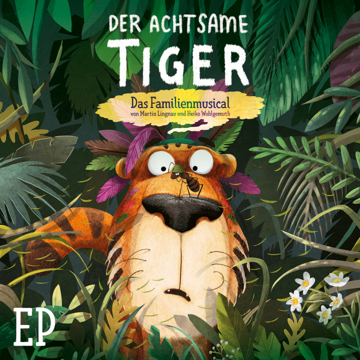 Der achtsame Tiger - EP - Cover