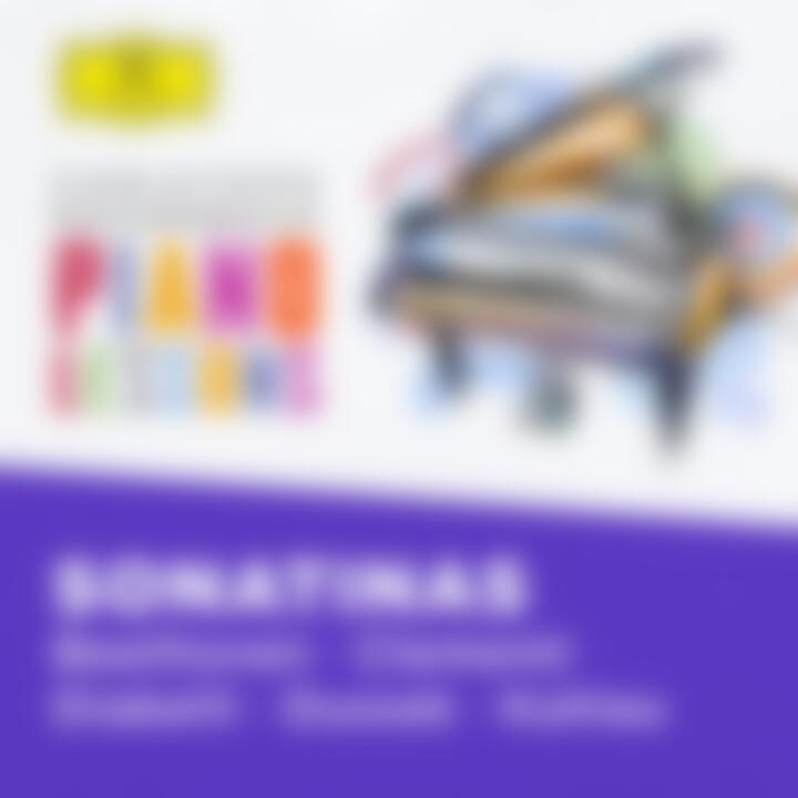 Christoph Eschenbach Piano Lessons Sonatinas eAlbum Cover