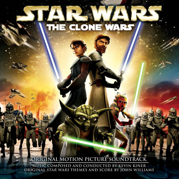 Star Wars: The Clone Wars (Original Motion Picture Soundtrack) - Cover