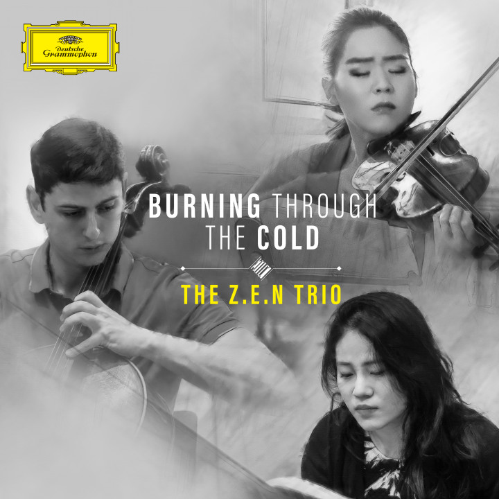 The Z.E.N. Trio - Burning Through The Cold Cover