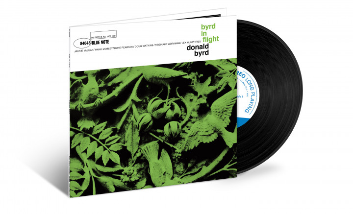 "JazzEcho-Plattenteller: Tone Poet Vinyl Series - Donald Byrd ""Byrd in Flight"""