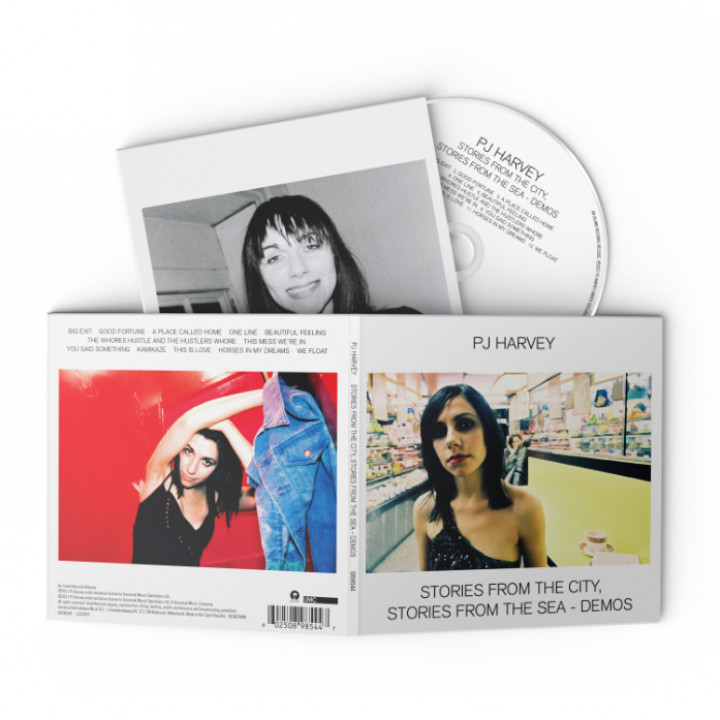 PJ Harvey Stories From The City Stories From The Sea Demos CD