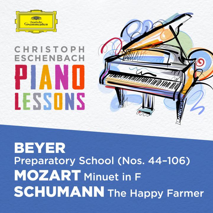 Christoph Eschenbach - Beyer Mozart Schumann eAlbum Cover