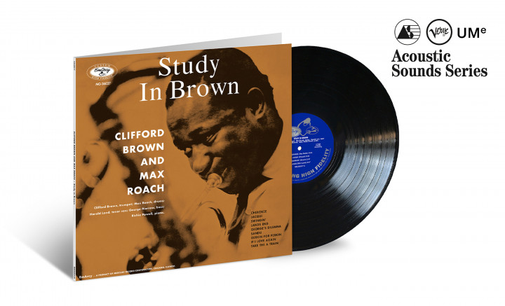 "JazzEcho-Plattenteller: Clifford Brown & Max Roach ""Study In Brown"" (Verve Acoustic Sounds Series)"