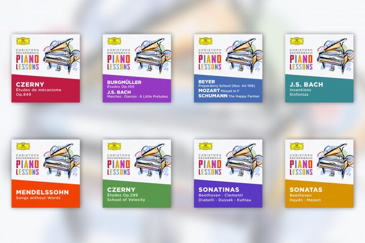 Piano Lessons - Digital Albums