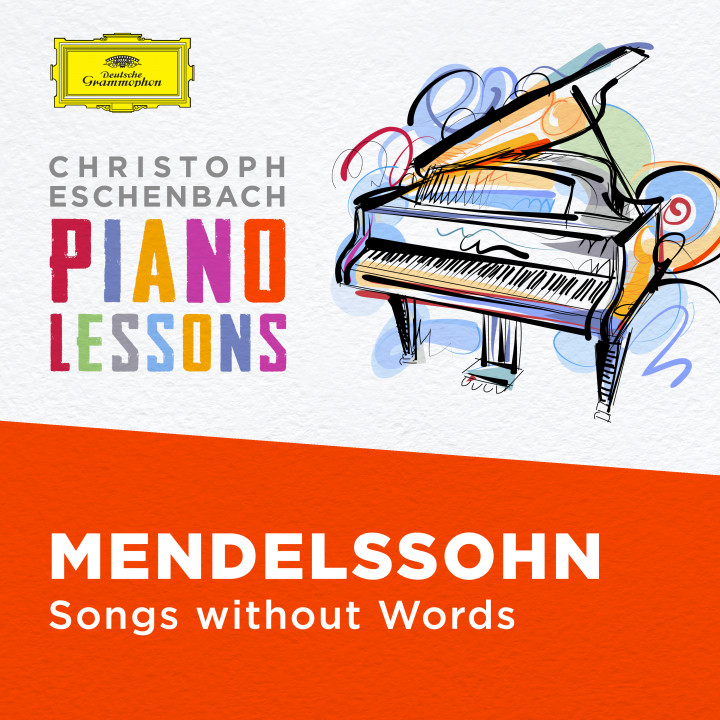 Christoph Eschenbach Piano Lessons - Mendelssohn: Songs without Words Cover