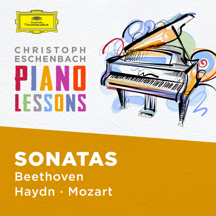 Christoph Eschenbach - Piano Lessons - Piano Sonatas by Haydn, Mozart, Beethoven Cover