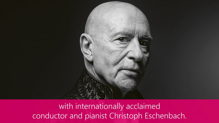Learn piano with Christoph Eschenbach and Tomplay