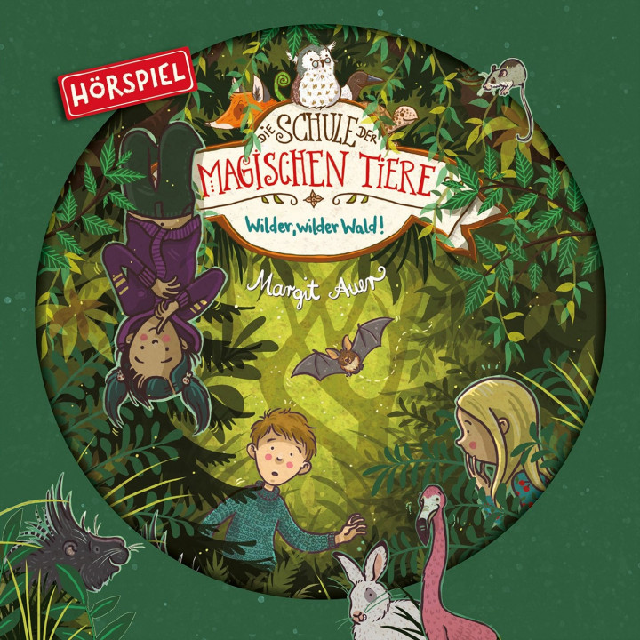 DSDMT (Hörspiel) 11: Wilder, wilder Wald! - Cover