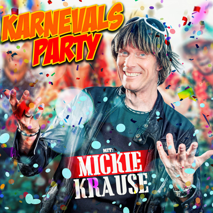 Karnevalsparty mit Mickie Krause - Cover